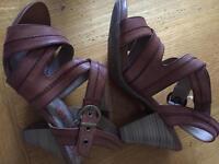 M&S Footglove sandals new size 4