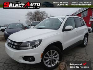 2013 Volkswagen Tiguan 2.0 TSi*NAVI*LEATHER*PANORAMIC*