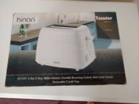 Hinari White Toaster New in box