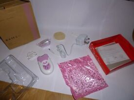 Pink Rechargeable Depilator Women Ladies Body Hair Removal Epilator