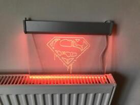 DC Comics Superman Logo Light Sign