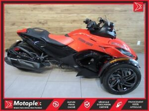 2016 Can-Am Spyder RSS SE6  65$/SEMAINE
