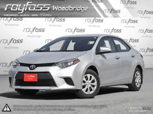 2015 Toyota Corolla ONE OWNER.NO ACCIDENTS.Upgraded Stereo. Manu