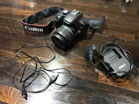 Canon EOS 500D camera and 18-55mm lens