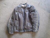 Ixon Legend Brown Leather Motorbike Jacket.