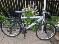 "mountain bike .. full suspension.. diamondback s10 ..19 "" frame."
