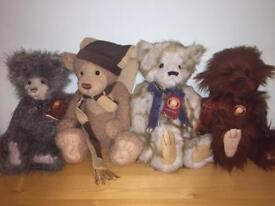 Various Charlie Bears