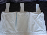 Baby cot 100% cotton organiser for storing nappies/wipes etc.