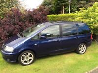 Seat Alhambra diesel 7 seater