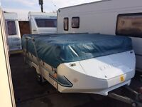 conway cruiser very good condition 2000 model full size awning, 6 berth