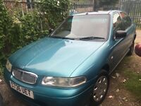 ROVER 416 I 5 DOOR HATCHBACK S REG MOT MAY 2017 DRIVES GREAT