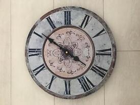 Brand New Wood Effect Clock.
