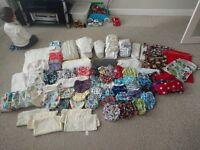 Complete Cloth/Reusable Nappy bundle