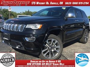 2017 Jeep Grand Cherokee Overland | 4X4 | DEMO | HEATED LEATHER