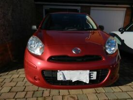 Nissan Micra 62 plate