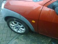 FORD KA 2005 PLATE BRAEKING COMPLET CAR ALL PARTS ENGINE BOX PANNLES