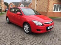 2010 HYUNDAI I30 COMFORT 1.6 DIESEL 12 MONTH MOT FULL SERVICE HISTORY MILEAGE 68k HPI CLEAR