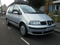 SEAT ALHAMBRA 2001 1.9 TDI 7 SEATER GOOD CONDITION FULL SERVICE HISTORY