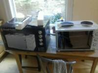 Russel hobbs multi oven hotplates in box
