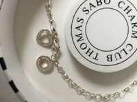 Thomas Sabo Charm anklet with charm