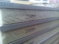1 x PALLET OF 20 X 25 MM + 12,5 MM PLASTERBOARD THERMAL INSULATION RECTICEL BOARD