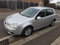 Volkswagen Golf 1.9 TDI, Match DSG, Diesel, 5 Door Fully Automatic, Silver, 2007, 82651 miles. £3295