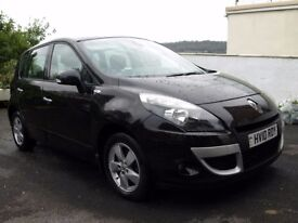 2010 Renault Scenic Dci Diesel, 106 bhp, 6 Speed, Dynamique TomTom, 75000 miles