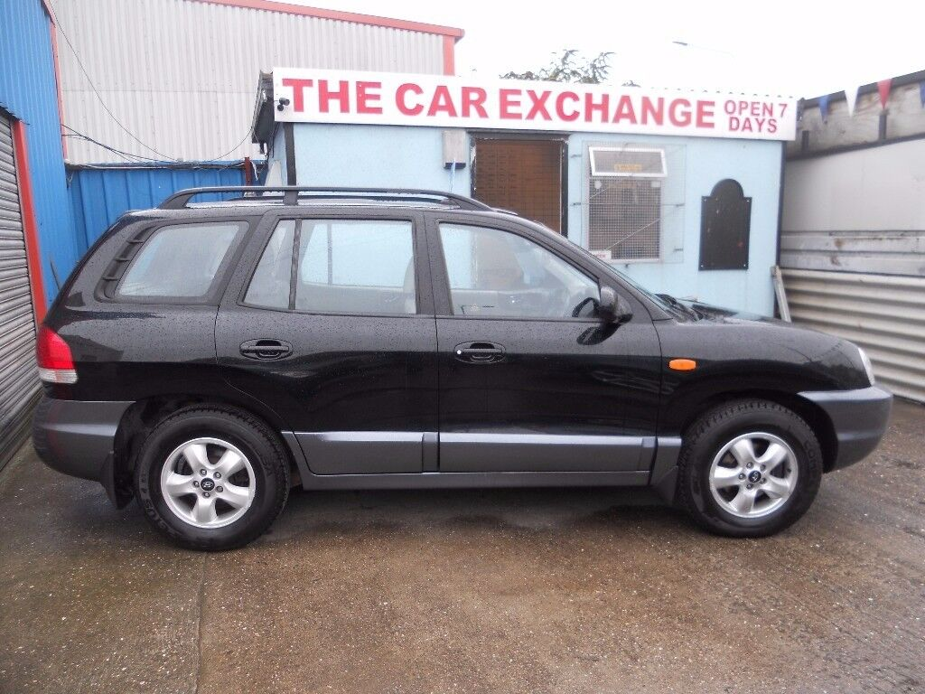 2005 hyundai santa fe cdx crtd 4x4 full history diesel. Black Bedroom Furniture Sets. Home Design Ideas