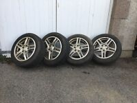Alloy Wheels and Winter Tyres for Honda Civic Type-R (and many more)