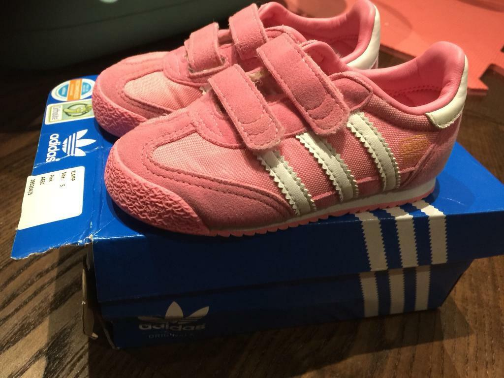 Addidas infant trainers