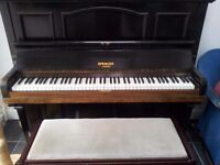 Spencer of London Upright Piano & Stool
