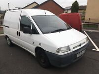 Fiat scudo 1.9D. Window cleaning van. BARGAIN PRICE FOR QUICK SALE!!