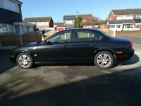Jaguar S type 2.7d low miles, fsh, excellent runner, 110k needs MOT