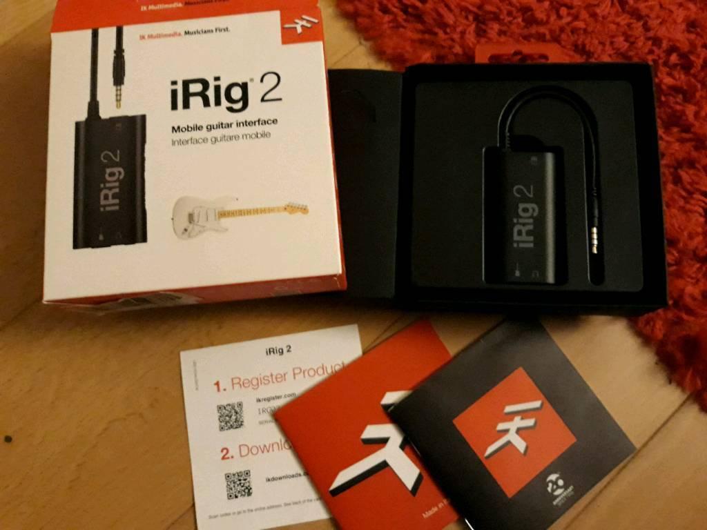 iRig 2 guitar interface