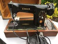 A Classic sewing machine made by The Singer Manufacturing Company of England