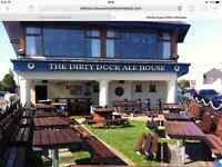 Chef de Partie job, full time hours, working for the award winning Dirty Duck Restaurant, Holywood.