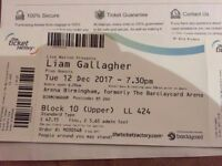 £100 for 2x Liam Gallagher 12th Dec seated tickets - buy today and will send them first class
