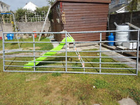12 ft 7 bar farm gate