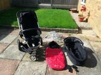 Quinny Buzz Buggy/Pushchair with extras