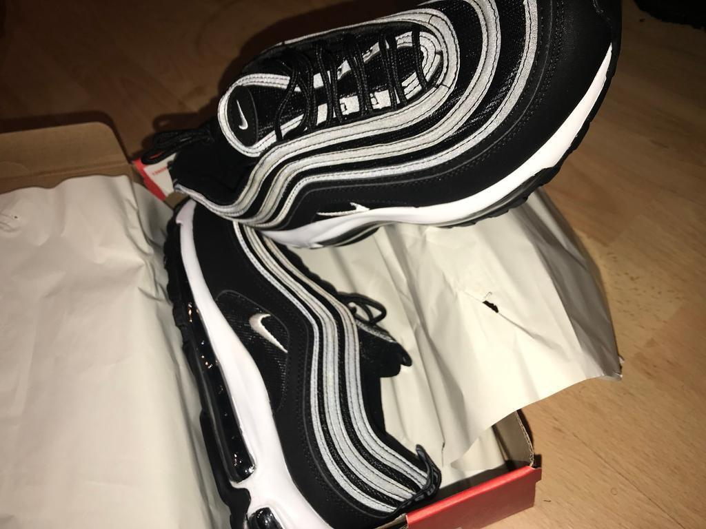 Nike air max 97 black size 13  43f0bb2fc6