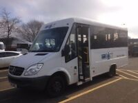15-seater Minibus £19,750 + VAT - fully accessible with passenger lift. Low mileage - v.g.c.