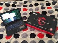 """Gaming laptop MSI GP72 6QF 17.3"""""""