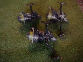 Diawa Black Widow Bait Runner Reels x 3