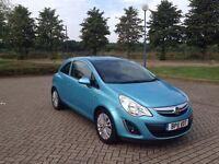 2011 Vauxhall Corsa 1.2 Excite 3 doors (blue) Low mileage