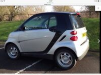 SMART FORTWO BLACK AND SILVER, LONG TAX AND MOT, FULL HISTORY