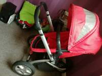 Mothercare My3 travel system with maxi cosi car seat !