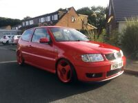 Volkswagen polo 6n2 modified stance