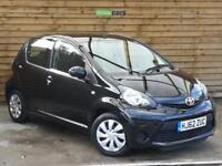Toyota Aygo 1.0 VVT-i Ice 5dr VERY LOW MILEAGE (black sand pearlescent) 2012