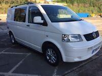 Volkswagen camper vw campervan vw t5 vw transporter Day van 2.0 tdi SWB