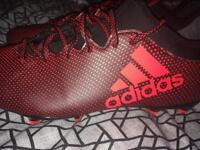 Adidas X football boots size 9